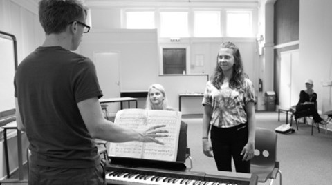 Stagecoach Blog - Rehearsing for West Side Story!