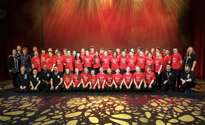 Stagecoach Students at Disney's Behind The Magic 2020